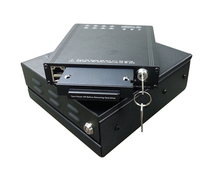 Mobile DVR with 3G, GPS & WiFi
